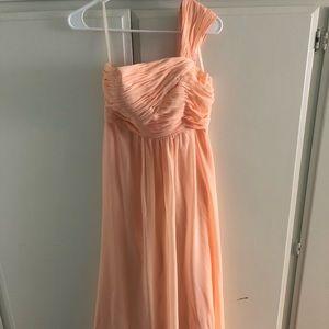 Dresses & Skirts - Formal peach dress